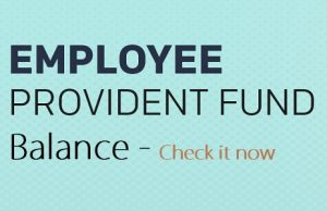 Provident Fund PF Balance with UAN number